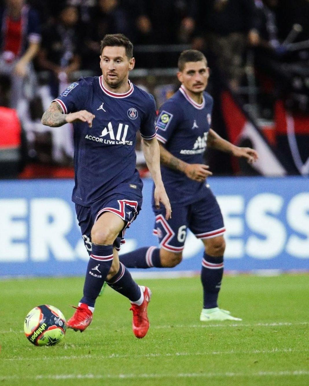 Lionel Messi debutó con PSG