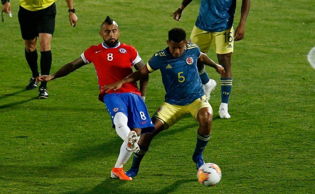 Así formaría Colombia ante Chile