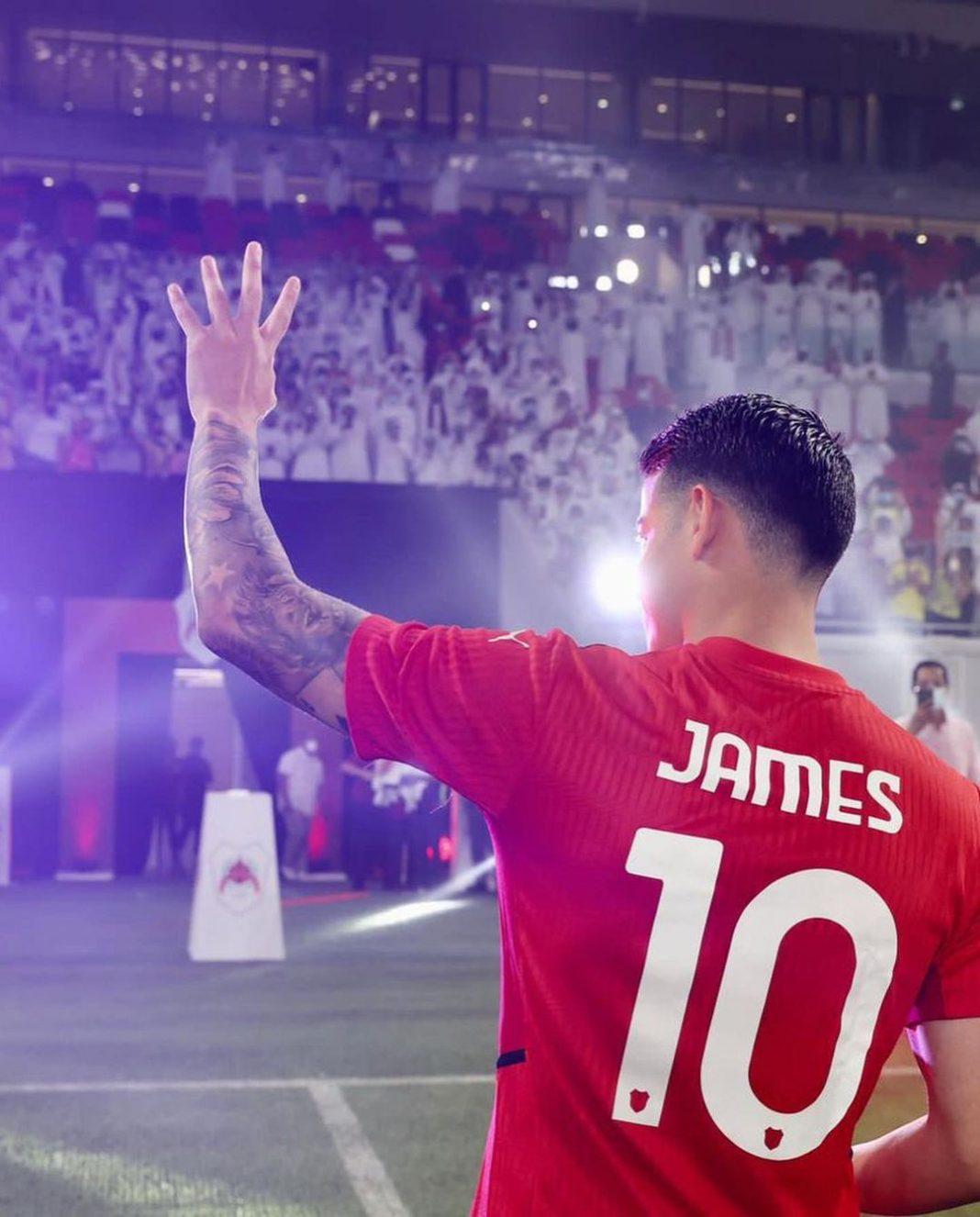 James quiere jugar pero después de la fecha FIFA