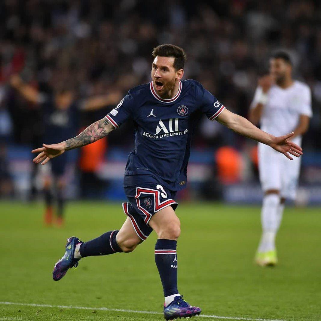 El primer gol de Messi con el PSG